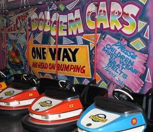 Sidetracked Entertainment Centre Pic 4 - Dodgem Cars