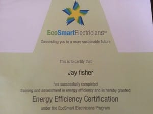 Curly J's Electrical Innovations Pic 5 - Eco smart accredited