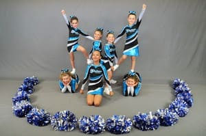 Platinum Dance Academy of Performing Arts Pic 3 - Platinum All Star Cheerleaders