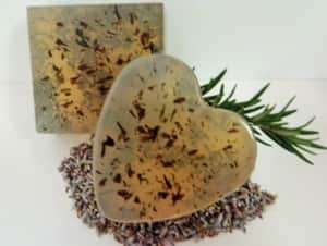 Scented Skyes Pic 5 - Lavender Rosemary Natural Soap straight from the garden