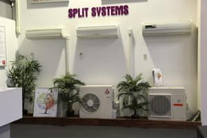 Plum Heating and Cooling Pic 4 - Plum Showroom Split System Display