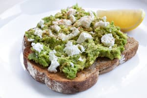 Thrive on George Pic 3 - avocado and feta on toast