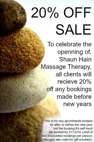 Shaun Hain Massage Therapy - Mobile Therapist Pic 2