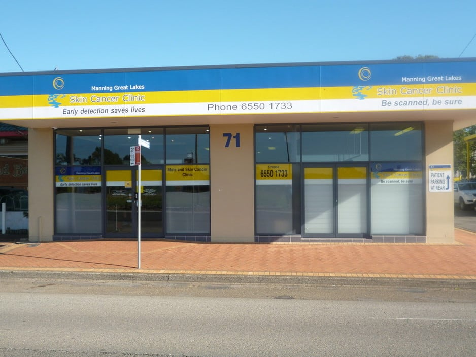 Manning Great Lakes Skin Cancer Clinic Pic 1 - Manning Great Lakes Skin Cancer Clinic Located in Taree NSW 2430