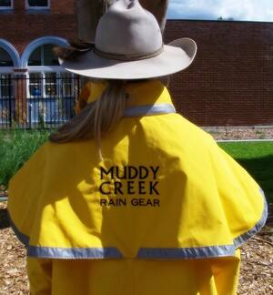 Muddy Creek Rain Gear Pic 4 - Yellow Muddy Creek Rain Gear coat