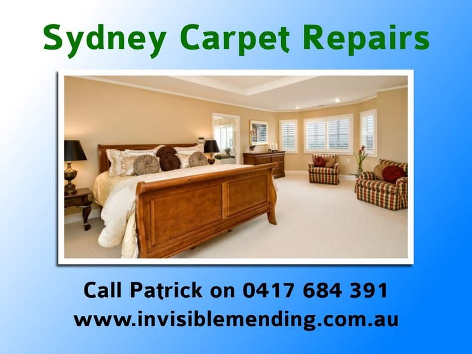 Invisible Mending Sydney Carpet Repair Pic 1 - Invisible Mending is the Sydney carpet repair specialist Friendly expert service and fantastic carpet repairs Sydney wide