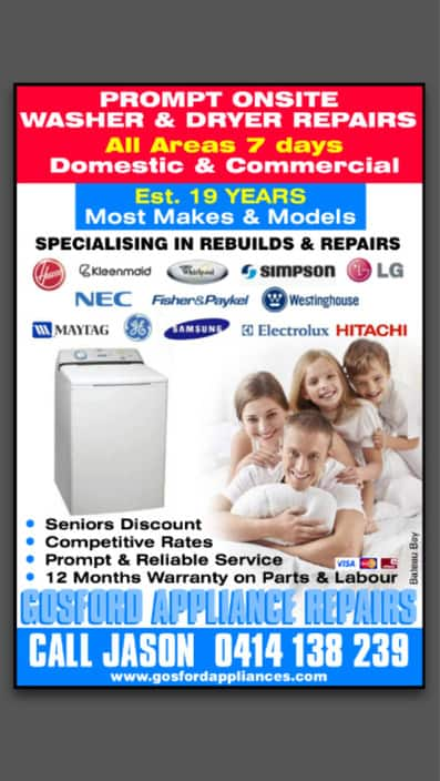 Newcastle Appliance Repairs In Dudley Nsw Appliances