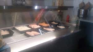 Dalton Village Fish & Chips Pic 3 - Food on Display