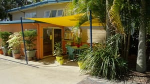 Poinciana Tourist Park Pic 2 - Our friendly staff to welcome you in our office