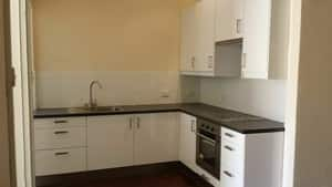 KMI PROPERTY SOLUTIONS Pic 4 - BASIC FITTED KITCHEN IN RENTAL PROPERTY BAYSWATER