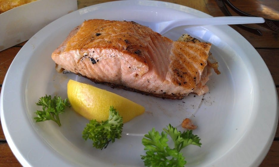Bub's Fish & Chips Pic 2 - Grilled Salmon beautiful