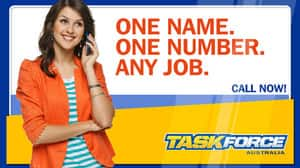 Taskforce Australia Pic 5 - One Name One Number Any Job