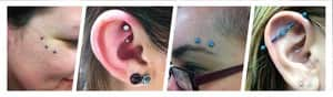 Modify Professional Body Piercing Pic 4 - A few piercings with Anatometal jewellery