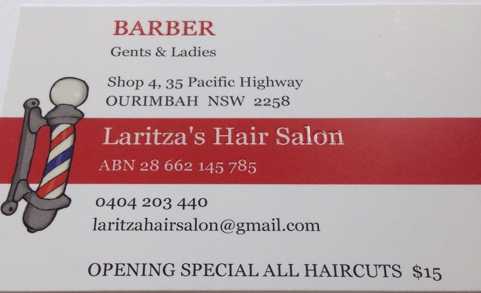 Laritza's Hair Salon Pic 1 - Barber Grooming and Waxing
