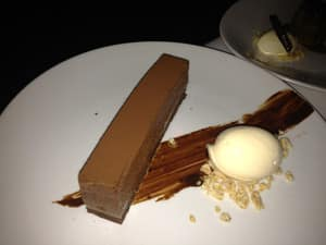 chocolate pave