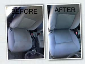 Touchdry Carpet Cleaning & Pest Control Pic 4 - Car Upholstery