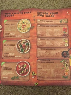Sumo Salad Pic 5 - Soups and Design your own salad