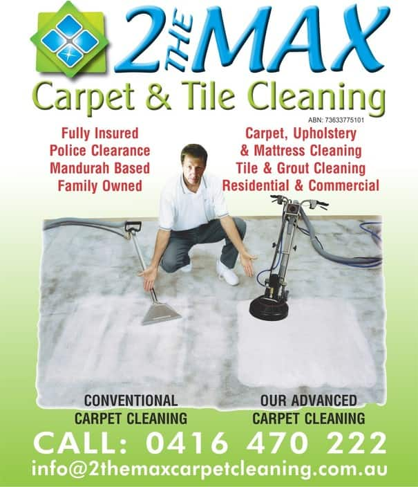 2 The Max Carpet & Tile Cleaning Pic 1 - See the Results for yourself