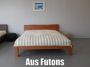 Aus Futons Pic 3 - Sheoak natural edge base