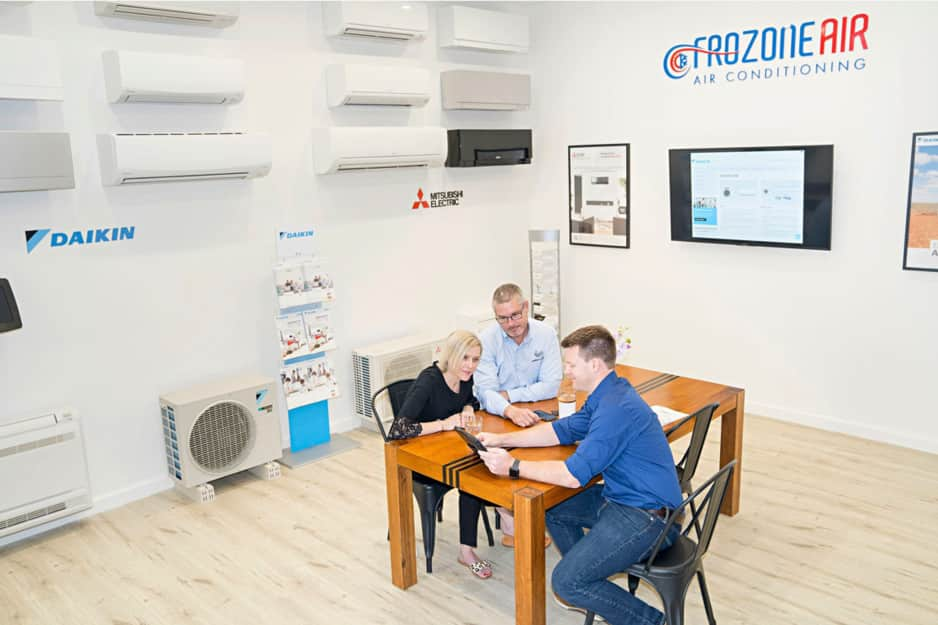 Frozone Air Pty Ltd Pic 1 - Come visit our brand new showroom For a fully customised solution to your air conditioning needs