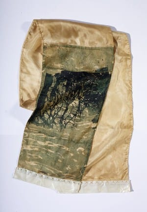 The Trustee for the Log Follow Trust Pic 5 - Scarfs Screen printed on organic hemp silk