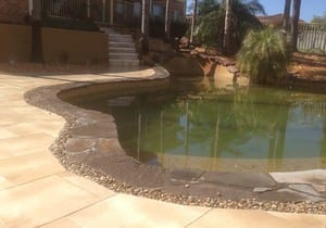 Leaf and Stone Landscapes Pty Ltd Pic 3 - Paving and Pool Surrounds