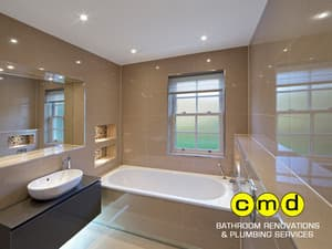 CMD Bathroom Renovations and Plumbing Services Pic 3 - Bathroom Remodelling