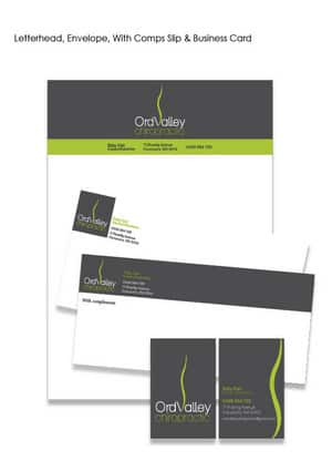Artistic Design Studio Pic 3 - Stationary Letterhead Business Card With Comps Slip Envelope design