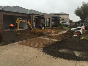 Nitro Excavation and Earthmoving Pty Ltd Pic 4 - New driveway prep