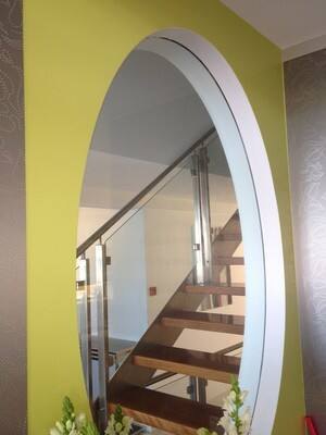 Arty Painters Pty Ltd Pic 3 - Hamilton Feature Wall Domestic painting job on Brisbane North