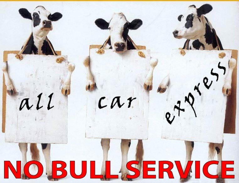 All Car Express Pic 1 - call all car express for no bull service