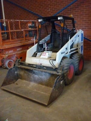 A 1 Cheapest Rubbish Removal Pic 3 - Bobcat skid steer and operator for hire We load rubbish