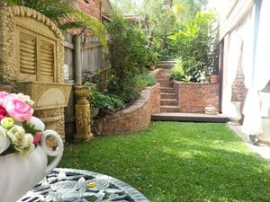 Daisy's Secret Therapeutic Massage Pic 5 - After your treatment relax with refreshments in the private courtyard