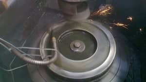 Drift Domain Pic 3 - Machining flywheel stage 2