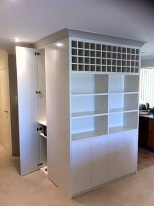Creative Cabinetry. Custom Made Furniture. Pic 3 - wall unit manly