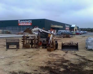 Steve Strange Bobcat Truck Hire Pic 5 - bobcat attachments