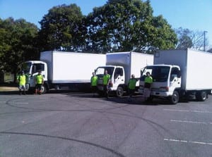 Rock On Couriers & Removalist Pic 4 - trucks 1