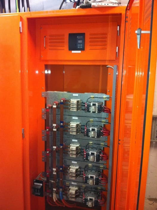 TSJ Electrical Pic 1 - Power Factor Correction Panel