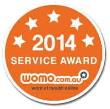 Salus Beauty and Day Spa Manly Pic 1 - So proud that Salus Beauty and Day Spa Salon received a Service Award based on our customer reviews on WOMO Thanks to everyone who reviewed us