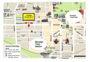 Bendigo Backpackers Pic 2 - Central Location
