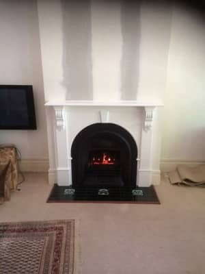 Empire Plumbing & Gas Pic 2 - Full fireplace and tiling