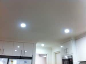 BRW Electrical Services Pic 4 - LED daylight or cool white recessed fittings Also available in warm white