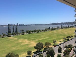 Crowne Plaza Hotel Perth Pic 5 - View to west