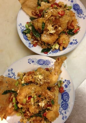 Masak Ku Pic 3 - Butter Soft Shell Crab