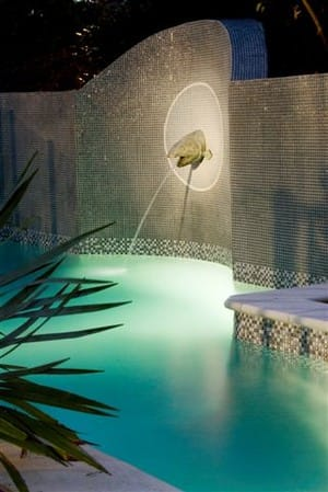 Tig Crowley Designs Pic 3 - pool at night Pool designs Sydney