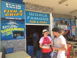 World Famous Fish N Chips Huskisson Pic 3