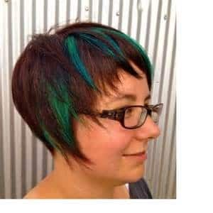Rave Hair Design Pic 1 - All over colour Panelsfoils