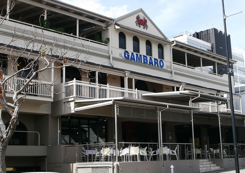 Gambaro 39 s seafood restaurant in petrie terrace brisbane for 242 petrie terrace brisbane