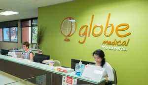 Globe Medical Pic 2 - Reception area