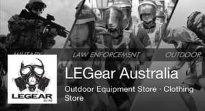 Legear Law Enforcement Gear Australia Pic 2 - Military Law Enforcement and Outdoor Products